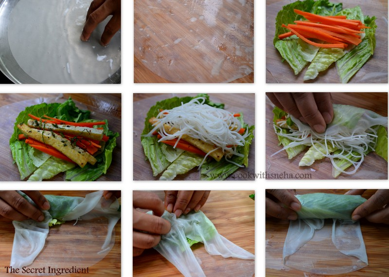 They Are Best When Eaten Fresh But If You Are Planning To Make Ahead Or Take For Parties Or Lunch Wrap Each Spring Roll Individually So That They Wont