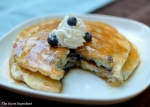Blueberry | Plain pancakes