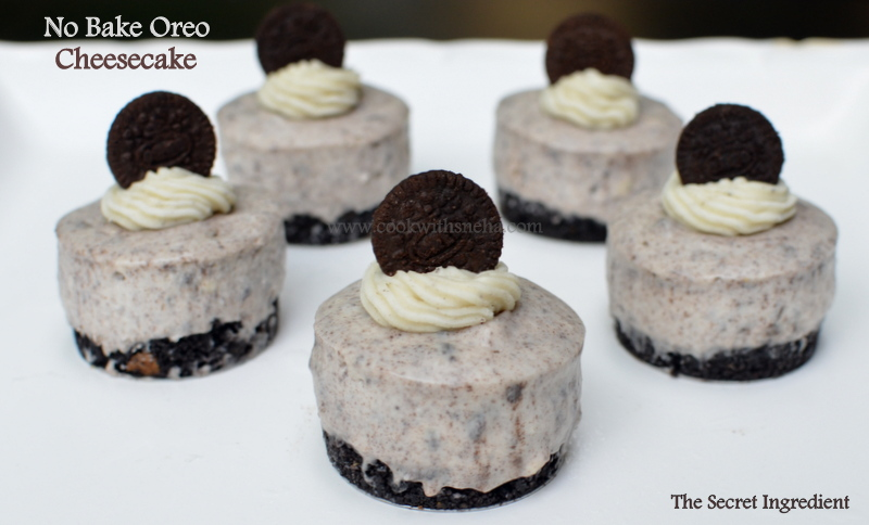 how to make no bake oreo cheesecake cupcakes