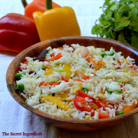 bell-pepper-pulao