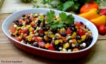 Black beans-Corn salad