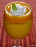 Mango Lassi, Mango Smoothie with Yogurt